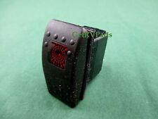Genuine Onan Cummins 308-1038 Generator Rocker Start Stop Switch With Red Light