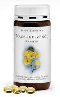 600 Nachtkerzenöl Kapseln (3 Dosen) von Sanct Bernhard, 9% Gamma Linolensäure