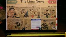 Last/Final Lil Abner - Authenticated by PSA & Signed  by Al Capp Nov. 13, 1977