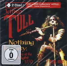 Jethro Tull - Nothing Is Easy CD&DVD NEW SEALED Live Isle of Wight 1970 2 Discs