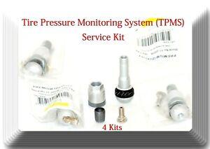 4 Repair Kits of Tire Pressure Monitoring System (TPMS) Sensor Fits Mercedes &