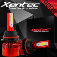 XENTEC LED HID Headlight kit 9004 HB1 White for 1988-1988 Mitsubishi Cordia