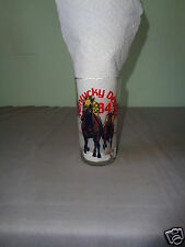 Vintage 1984 Kentucky Derby Churchill Downs W/ List Collectible Tumbler Glass