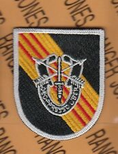 5th Special Forces Group Airborne SFGA RVN #2 w/ DUI beret flash patch