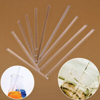 5 Glass Stirring Rod Laboratory Lab Use Stir Bar Stirrer Mixer 5 x 150 / 200 mm