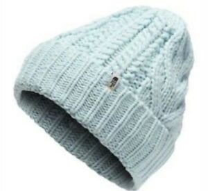 The North Face Cable Minna Beanie (Infant)  Color:Origin Blue 0-6 Mo. NEW W TAGS