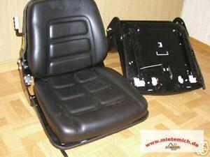 Sitz für Baumaschinen,Radlader,Minibagger,Staplersitz,Traktorsitz,Baggersitz,so