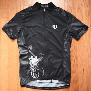 PEARL IZUMI Custom P.R.O. Series Specialized Black Cycling Jersey Womens M