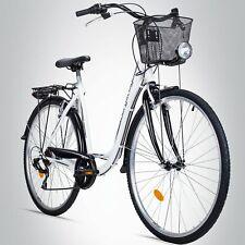 28 Zoll Damenfahrrad Bergsteiger Florenz STVZO 7 Gang Shimano Citybike B-Ware