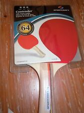 NIB BRAND NEW! SPORTCRAFT CONTENDER TABLE TENNIS  PING PONG PADDLE  SERIES 64