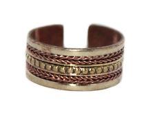 Copper ring healing ring yoga ring Adjustable ring Tibetan ring medicine Boho