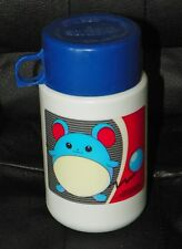 2000 Nintendo POKEMON Lunch Box THERMOS With Sippy Top White Blue MARILL