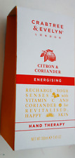 CRABTREE & EVELYN Citron & Coriander ENERGISING HAND THERAPY 3.45 OZ  NEW IN BOX