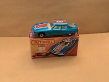 Matchbox Superfast Sneakers No. 51 Citroen S.M. Diamond Rear Tampo With Box