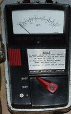 "Vintage Everett Edgcumbe ""Metrohm"" Model 6 Insulation Tester"