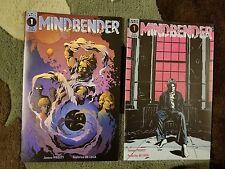 Mindbender #1 Scout Comics Cover A & B 1st Print Set
