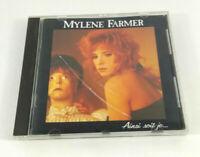 CD 10 titres  Mylene Farmer Ainsi soit je  Polydor  CD etat parfait  Envoi suivi