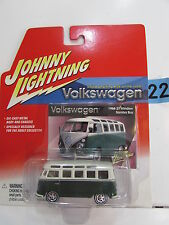 JOHNNY LIGHTNING VOLKSWAGEN 1966 21 WINDOW SAMBA BUS
