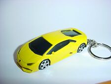 3D LAMBORGHINI HURACAN' CUSTOM KEYCHAIN KEY CHAIN keyring BACKPACK BLING!!!