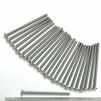 """STAINLESS STEEL ROUND ROD 302 .093/"""" X 14/"""" LONG 3//32/"""" 20 PCS 2.38MM."""