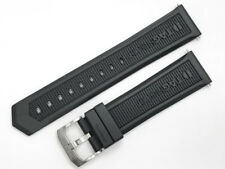 BT0717 BRAND NEW TAG HEUER FORMULA 1 BLACK RUBBER WATCH STRAP WITH BUCKLE 22MM