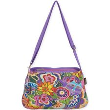 "Laurel Burch Medium Crossbody 10""x14.5""-carlotta's Garden"