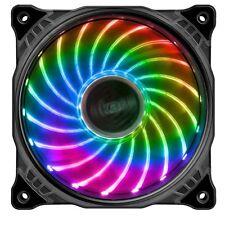 Akasa Vegas X7 120mm Motherboard-Controlled RGB LED Fan