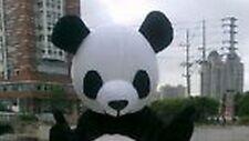 2017 Hot Panda Cute Animal School Team Cheerleading Mascot Costume Head Only New