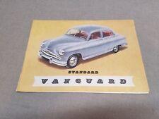 Vintage Standard Vanguard Brochure