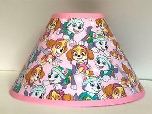 Pink Paw Patrol Fabric Children's Lamp Shade FREE SHIPPING
