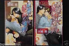 Japan novel Lot: Saiaku ni shite Saikou no Houyou vol.1+2 set