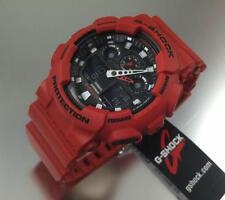 Casio G-Shock GA100B-4ACR Wrist Watch for Unisex