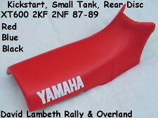 NEW 1987-1989 Yamaha 2KF 2NF XT600 Seatcover Coprisella. Replaces 2KF 3473100-10