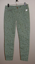 NWT GAP FALL '13 GREEN FLORAL LOW RISE LEGGING STRETCH JEANS NEW SIZE 27