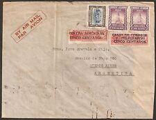 1566 ECUADOR TO ARGENTINA AIR MAIL COVER 1940