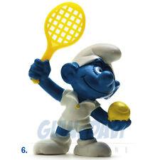 PUFFO PUFFI SMURF SMURFS SCHTROUMPF 2.0093 20093 Tennis Player Tennista 6A