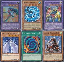 Yugioh GX Obelisk Blue - 3 Decks - Alexis + Bastio + Chazz - Armed Dragon  LV7