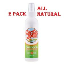 2 Pack ~ Cactus Juice Eco-Spray Insect Repellent for Greenheads, Bugs, Flies