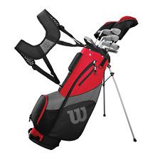 Wilson Herren Profil Sgi Komplett Golf 9 Klub Paket Set - Mit Tragetasche