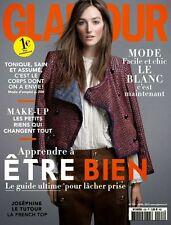 GLAMOUR France FRENCH April 2015, Josephine Le Tutour, Louise Parker  NEW