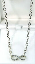 Infinity 925 Sterling Silver 45cm CHAIN Necklace
