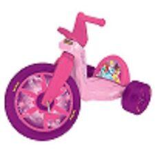 "Disney Big Wheel 16"" Princess Racer On Pink Bike Birthday Rider Riding Bicycle"