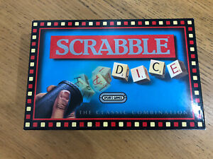 Vintage Spears 1990s Scrabble Dice Game Complete VGC