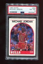 1989 Hoops 200 Michael Jordan PSA 8