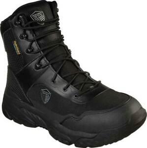 "Skechers MEN'S 6"" Work Relaxed Fit Markan Tactical Boot Men's Shoes Memory Foam"