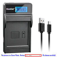 Kastar Battery LCD Charger for Canon BP-727 CG-700 Canon VIXIA HF R700 Camera