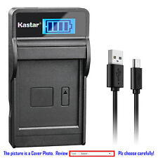 Kastar Battery LCD Charger for Sony NP-BX1 BC-CSXB & Sony Cyber-shot DSC-WX350