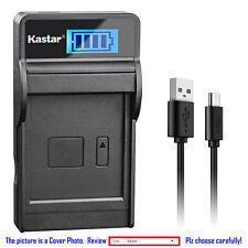 Kastar Battery LCD Charger for Nikon EN-EL12 & Nikon Coolpix AW130s Coolpix P300