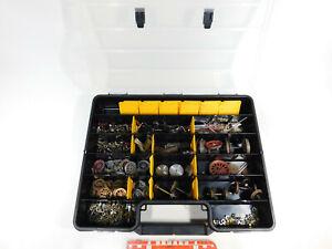 BI245-20# großes Konvolut Spur 1 Teile/Räder/Gestänge in BOX; teilweise Märklin