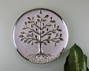 Pagan Theme Tree Of Life Plate Wall Art Decor Plaque Sculpture Ornament Gift